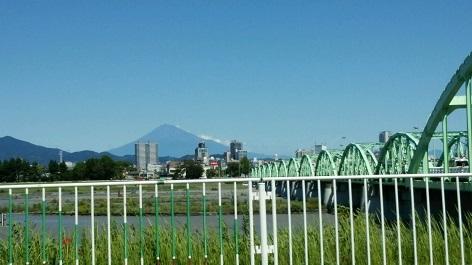 富士山台風の翌朝