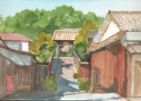 篠山河原町の夏