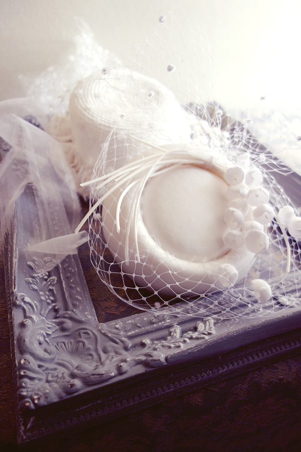 No 50 4# トーク帽 #トークハット #シルク #絹 Silk100% #ウェディング #ヘッドドレス