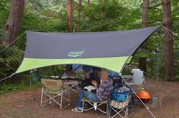 静かなキャンプ場