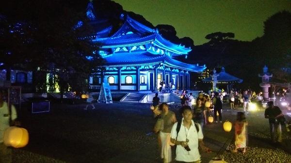 長谷寺の夜景