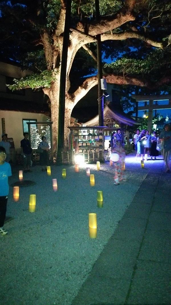 権五郎神社の境内