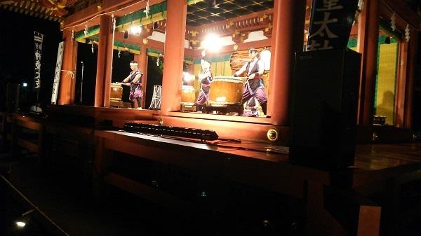 舞殿の神童太鼓2