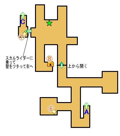 【ドラクエ11】 『荒野の地下迷宮』 のマップ 地図 宝箱など 【DQ11 攻略】