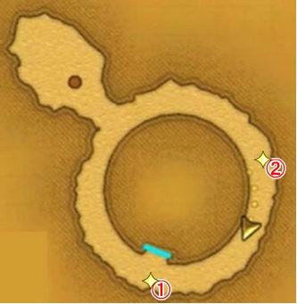 【ドラクエ11】 『天空の古戦場』 のマップ 地図 宝箱 キラキラ ぱふぱふ屋の場所など 【DQ11 攻略】