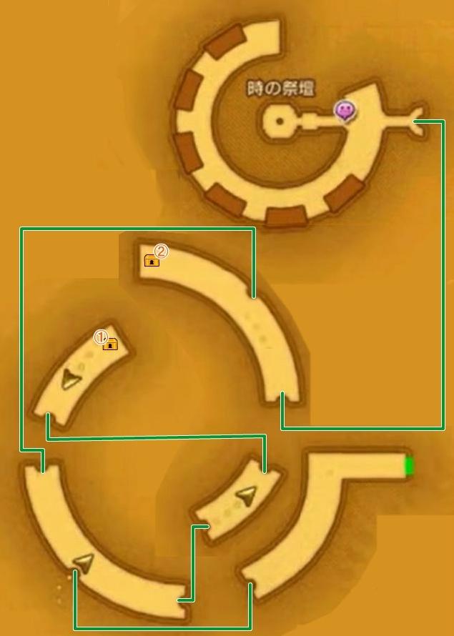 【ドラクエ11】 『忘れられた塔』 のマップ 地図 宝箱 【DQ11 攻略】