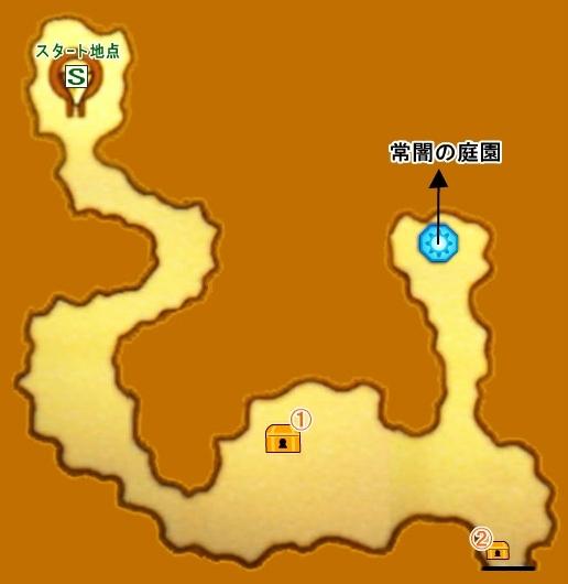 【ドラクエ11】 『勇者の試練・常闇の林道』 のマップ 地図 宝箱 【DQ11 攻略】