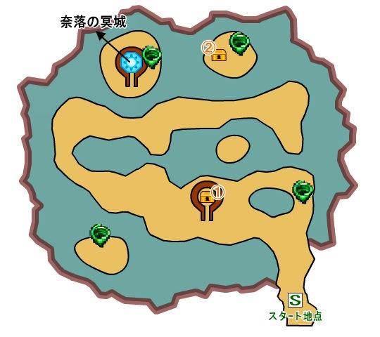 【ドラクエ11】 『勇者の試練・常闇の庭園』 のマップ 地図 宝箱 キラキラ 【DQ11 攻略】