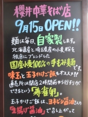 【新店】櫻井中華そば店-22