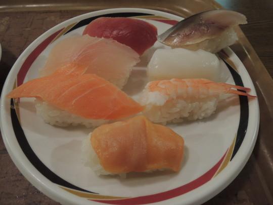 寿司(一皿目)