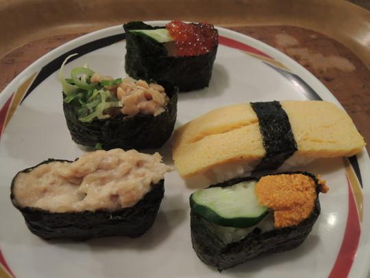 寿司(二皿目)