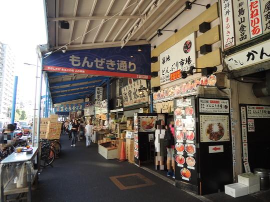 築地場外市場(もんぜき通り)