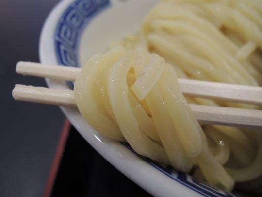 濃厚つけ麺(大盛り)の麺