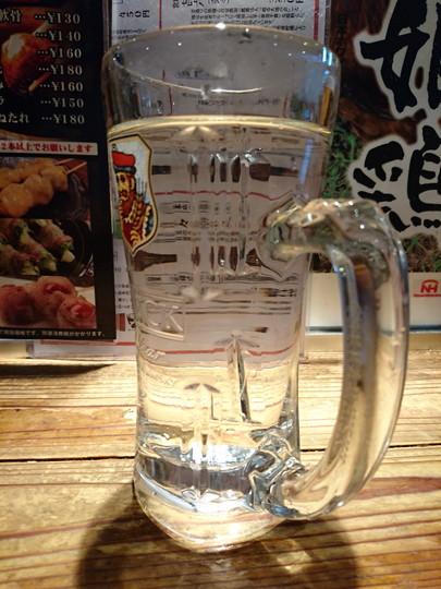 芋焼酎「㐂六」お湯割り(378円)
