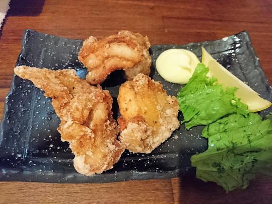 鶏の唐揚げ(518.4円)