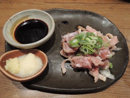 国産鶏のモモたたき(646.92円)