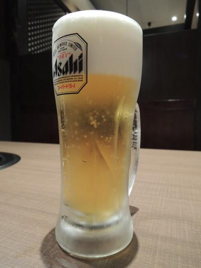 ビール「アサヒスーパードライ」(540円)