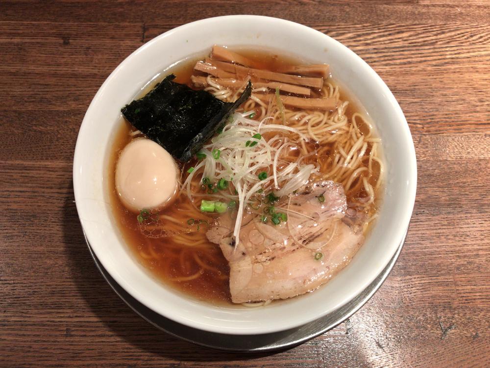 Tombo -- 味玉醤油の旨味ソバ