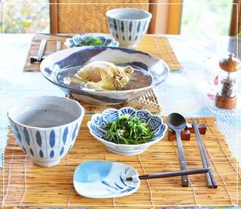 参鶏湯でdinner