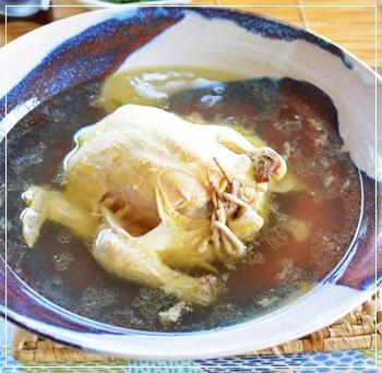暑気払いは参鶏湯