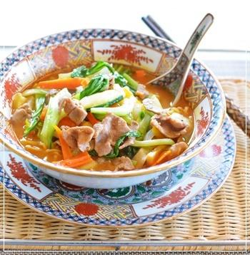 ラ王肉野菜