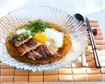 鰻&トロロ蕎麦