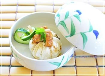 鰻豆腐茶巾