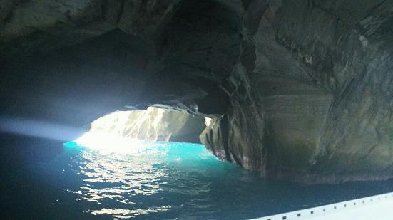 堂ヶ島の洞窟