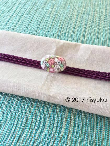 青着物紫帯留めC_convert_20170723132003