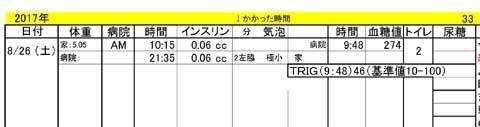 リン血糖値カルテ33