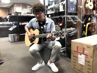 ギター講師中山大輔