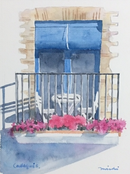 カダケス青い窓