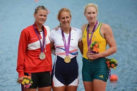 ロンドン五輪W1X金 ミルカ・クナプコヴァ World Rowingより