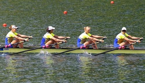 ウクライナW4X ロンドン五輪金メダル World Rowingより