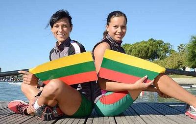 リトアニアW2X 2015ユニバーシアード World Rowingより