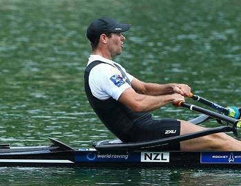 NZ M1X ロバート・マンソン World Rowingより
