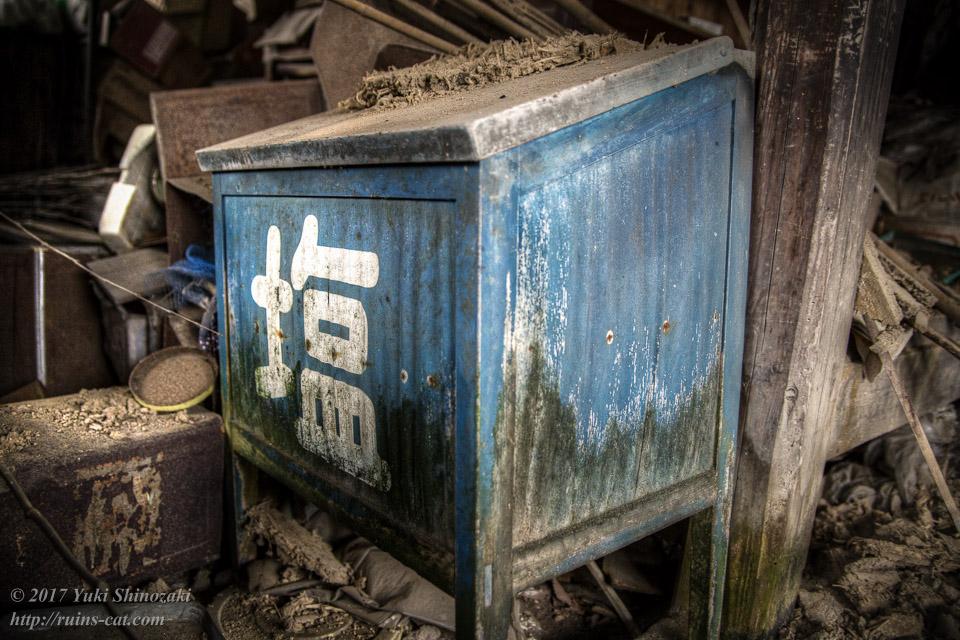旧・原田食料品店_塩の量り売り用の箱