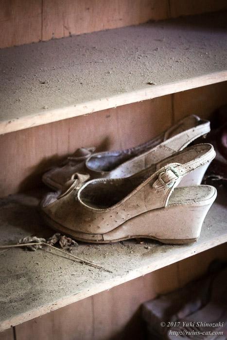 【廃墟写真】西興部村上藻のサイロ付き住宅跡_ハイヒール