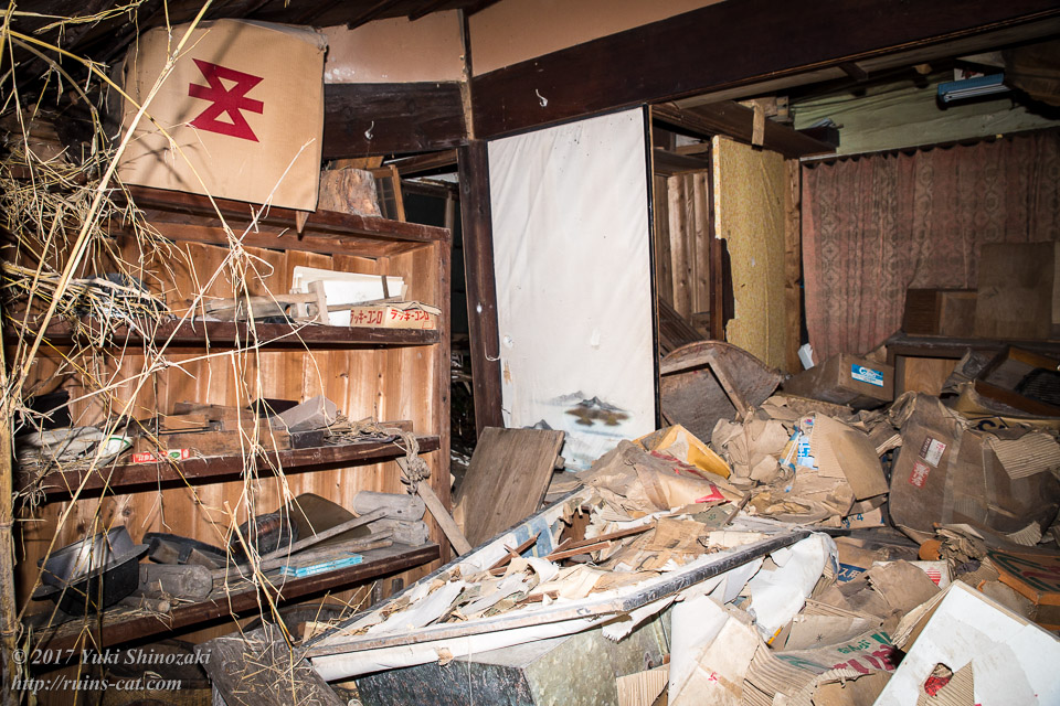 【廃墟写真】K医院_母屋内部その1