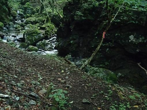 長尾谷入渓点
