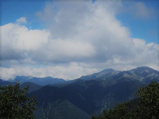 仙丈岳、北岳