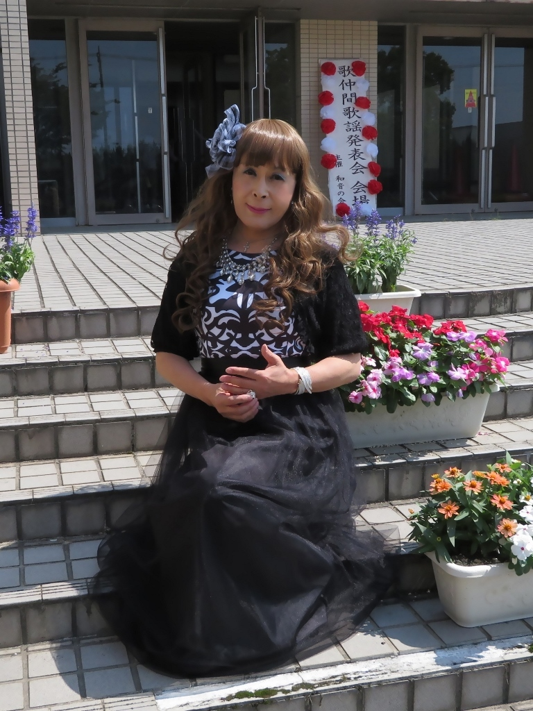 黒ドレス歌仲間発表会(5)