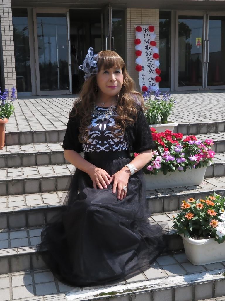 黒ドレス歌仲間発表会(6)