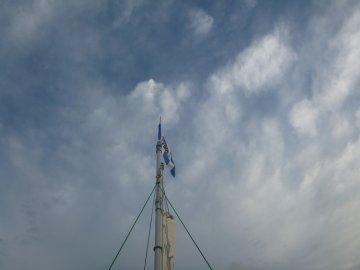 (1)風あり