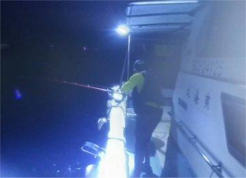 (3)釣り開始!