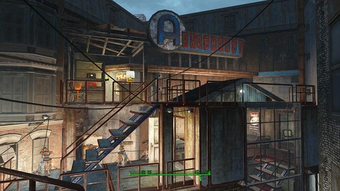 【fallout4】ハングマンズアリーアパート2