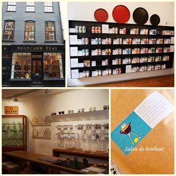 Postcard tea