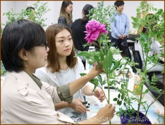 20170723  芍薬  2   生け花