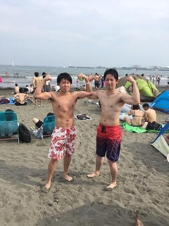2017江の島海へ4