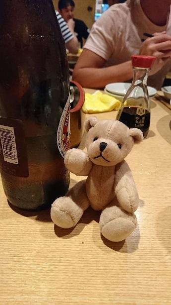 ビール瓶くま
